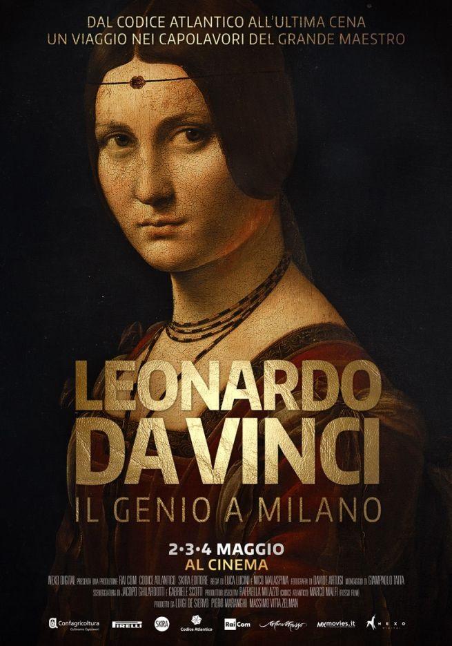 Leonardo Da Vinci sbarca al cinema con un docu-film
