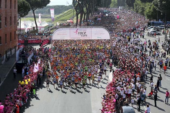 Tutti al Circo Massimo per la Race for The Cure 2016