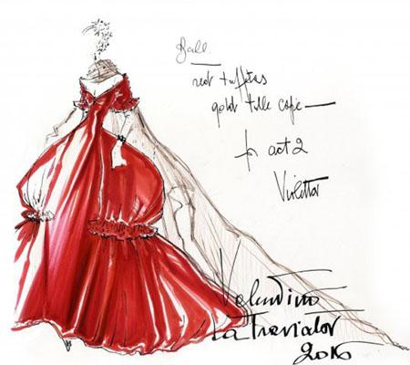 La Traviata  e  l'haut couture all'Opera: quando Violetta indossa Valentino
