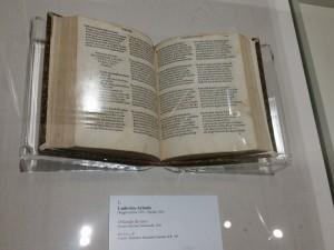 Editio Princeps dell'Orlando Furioso (1516)