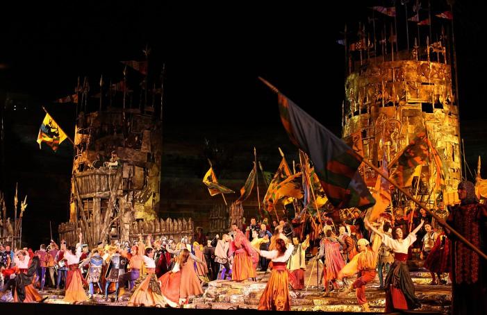 Il Trovatore,  Violeta Urmana magnifica Azucena a Verona