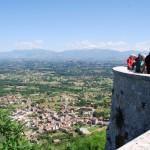 Castro dei Volsci: uno sguardo panoramico dal balcone della Ciociaria