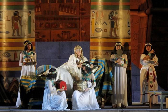 All'Arena di Verona Aida: il trionfo continua.