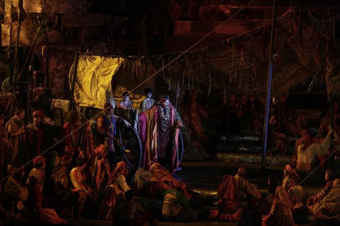 Il Trovatore conclude la sua quarta recita all'Arena di Verona questa sera