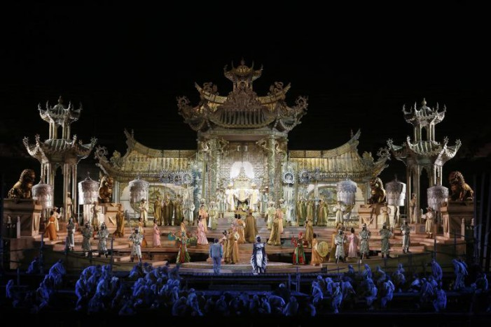 Turandot, domani sera a Verona