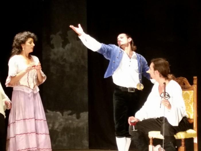 Cyrano de Bergerac sfida Pantalone al Teatro comunale di Alvito