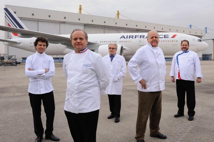 Air France e chef stellati: la cucina decolla per davvero.