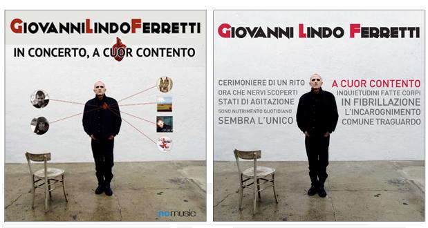 Giovanni Lindo Ferretti - In Tour A Cuor Contento (Locandina e CD Cover)