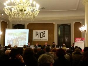 """L'VIII edizione del Premio """"Nostalgia di Futuro"""", svoltosi presso la sede FIEG di Roma"""