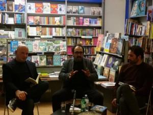 Al centro Salvatore Massimo Fazio, con Emilio Orlando (a sinistra) e Giulio Penna