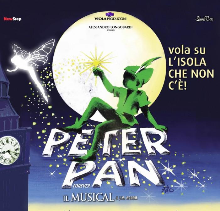 Raddoppia Peter Pan il Musical prima di lasciare il Teatro Brancaccio