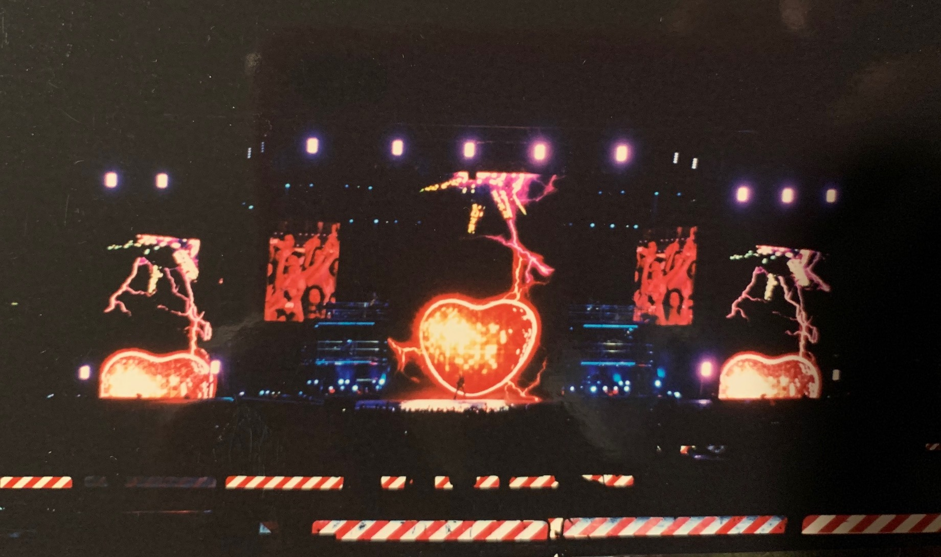 Io con un'amica al concerto 25LIVE a Roma di George Michael