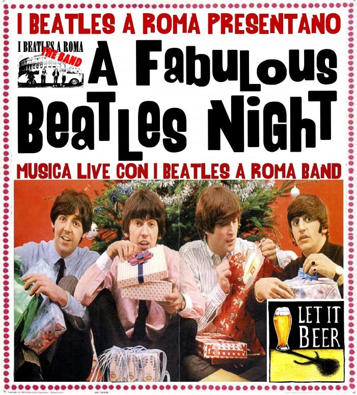 Al Let it Beer tornano i Beatles a Roma!