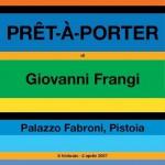 Prêt-à-porter è la mostra di Giovanni Frangi a Palazzo Fabroni