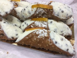 street food cannolo