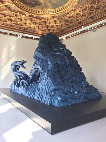 25 Andromeda and teh Sea Monster, Bronzo, Palazzo Grassi