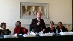 Il Preside Prof. Luigi Gulia, Presidente della giuria