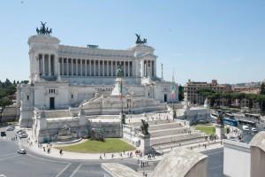 Veduta dalla splendida terrazza della sede Civita
