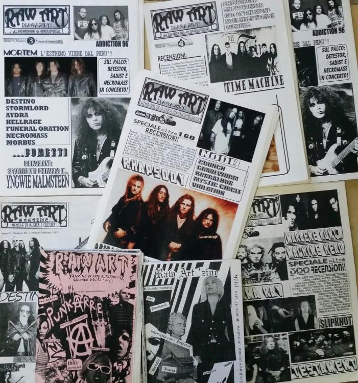 Restauro digitale di Raw Art, il Rock Anni 90 è tutto qui!