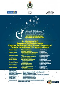 Il programma e la grafica unificata di BACK TO DREAM!