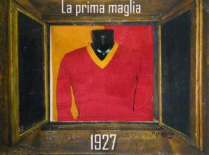 La prima maglia della storia della Roma