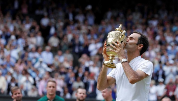 Wimbledon 2017, l'ottava sinfonia di Re Roger Federer