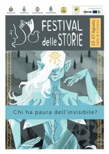 Locandina con grafica unificata del Festival delle Storie 2017
