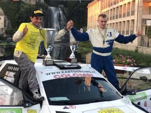 Premiazione del Rally della Ciociaria 2017 ad Isola del Liri