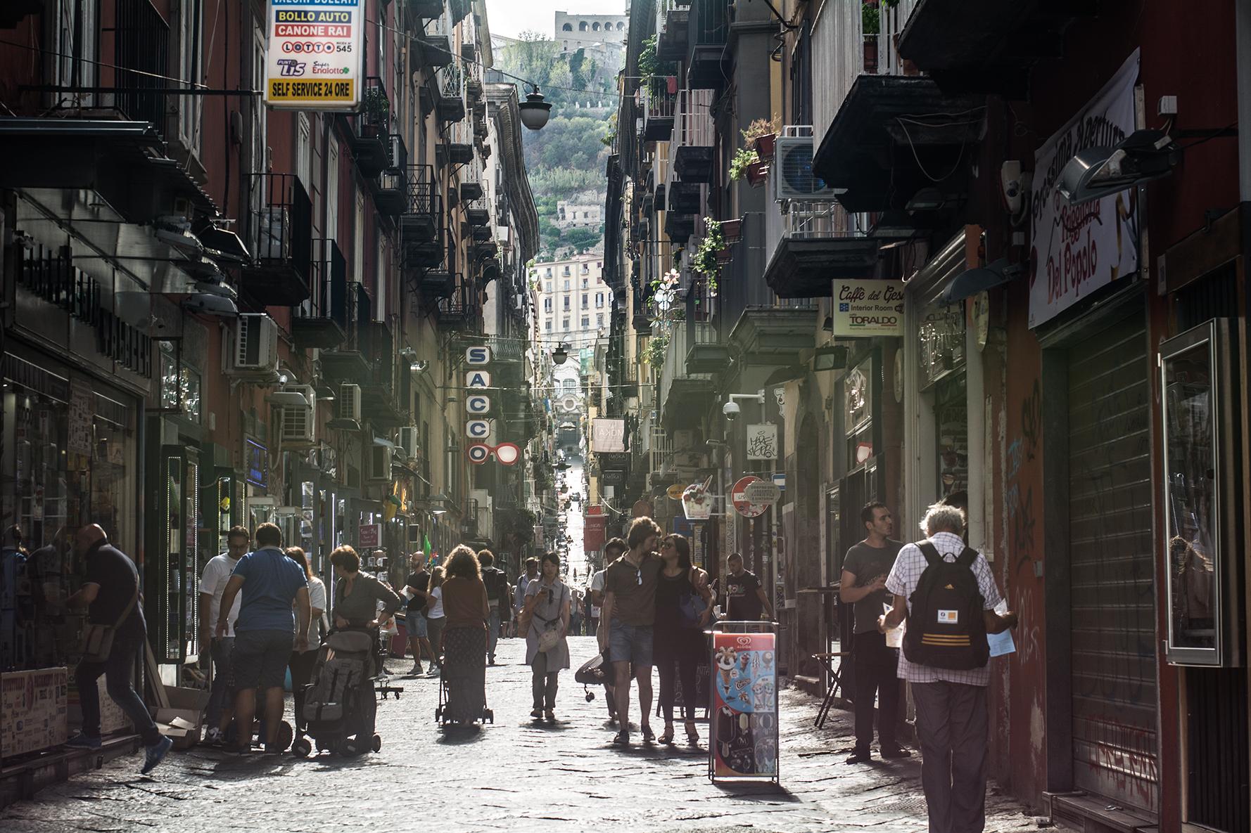 I vicoli a Napoli