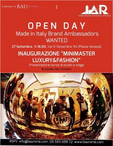 BAU invito Open Day