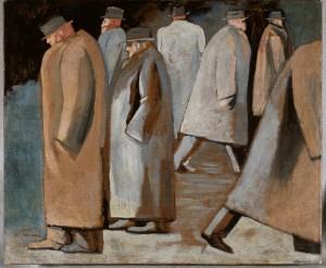 José Clemente Orozco El invierno, 1932 Óleo sobre tela Soporte 38.6 x 46.4 cm Marco 76.2 x 83.7 x 5.1 cm Museo de Arte Carrillo Gil