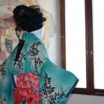 Il kimono giapponese arriva via mare ed approda a Santa Severa