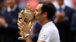 Roger Federer. Best of Sport 2017