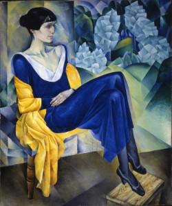 Nathan Alt'man, Ritratto di Anna Achmatova, olio su tela, © State Russian Museum, St. Petersburg