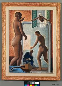 Mario Tozzi Personaggi in cerca d'autore, 1929 Olio su tela, cm. 115,5x82 Mart, Museo d'arte moderna e contemporanea di Trento e Rovereto, collezione VAF-Stiftung