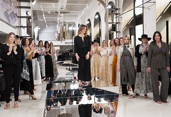 L'atelier creativo di Elena Mirò presente a Milano con Vanessa Incontrada