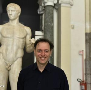 Direttore del MANN Paolo Giulierini