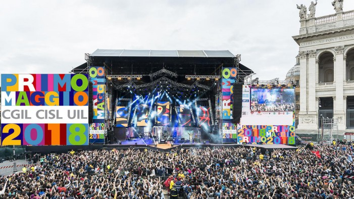 Concerto del Primo Maggio, rap, rock e grandi nomi per l'edizione 2018