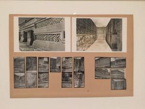 osef Albers (1888-1976), Mitla, 1956, Stampe alla gelatina d'argento e cartoline montate su cartoncino