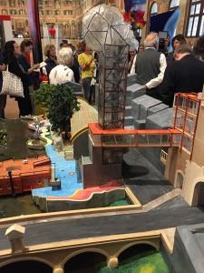 Modello del progetto Padova onora Galileo, 2016