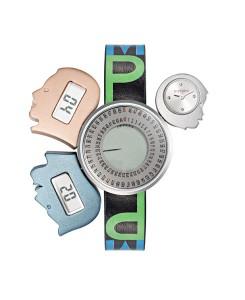 L'orologio Mytime, prodotto da Morellato, si presenta con un corpo centrale a cui si uniscono tre diverse casse che rappresentano la testa di un uomo, di una donna e di un bambino. Inserendo la data di nascita o di un qualsiasi altro evento importante della vita, il dial centrale riporta il tempo trascorso dalla data prescelta, fino ad un massimo di 90 anni, che viene indicato da una lancetta digitale. Le teste dell'uomo e della donna riportano il giorno e il mese corrente. Il segnatempo analogico che indica l'orario, è racchiuso nella cassa più piccola, che assume la forma della testa di un bambino e rappresenta per Gaetano Pesce il tema del futuro.