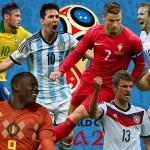 L'Alfabeto di Russia 2018: protagonisti e curiosità sui Mondiali