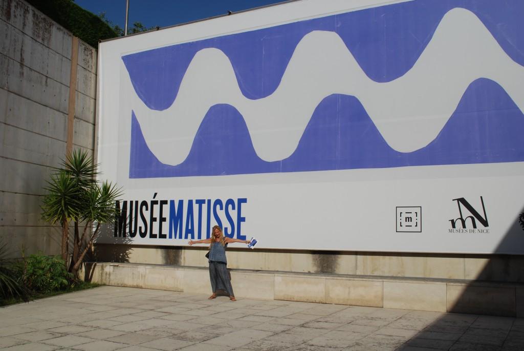 Io al Museo Matisse