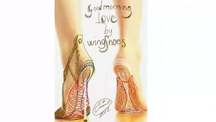Alia: le Wing Shoes ispirate alla leggerezza della farfalla