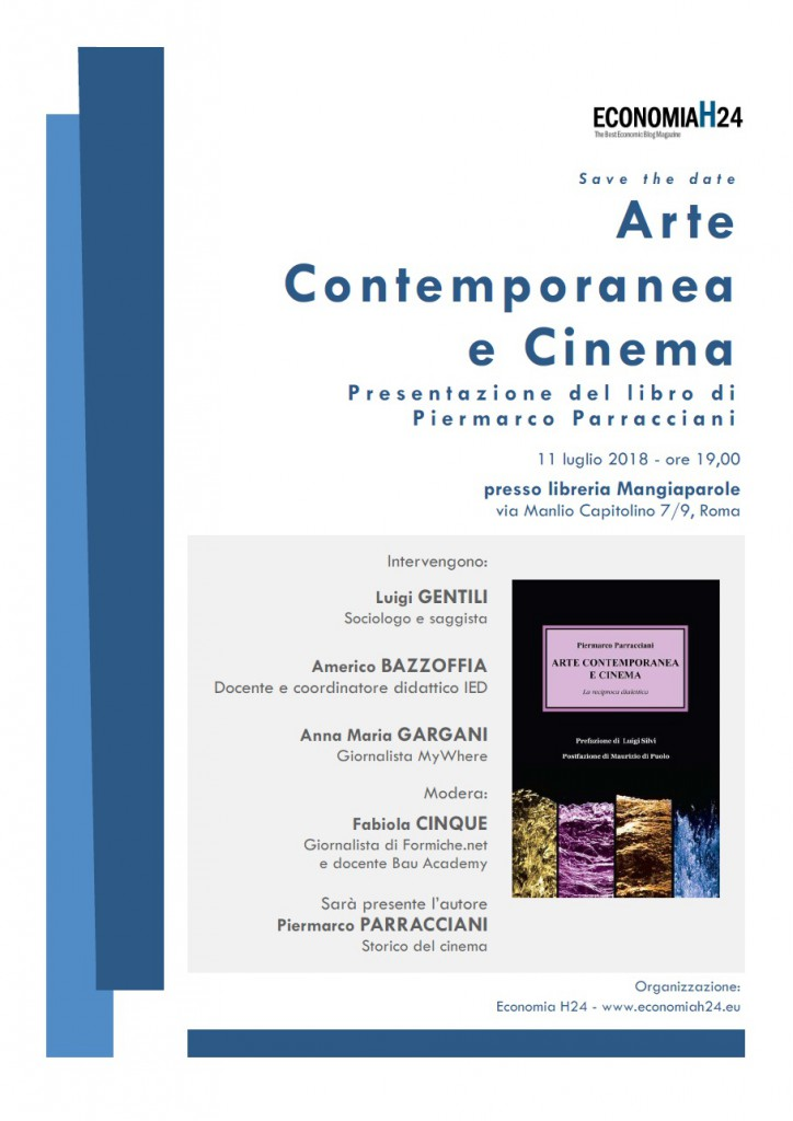 VideoArte contemporanea e cinema