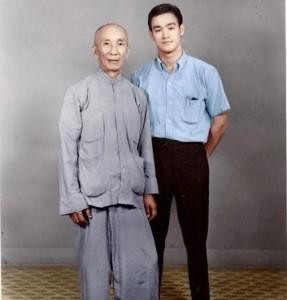 Il Maestro Yip Man e Bruce Lee