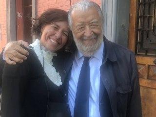 Pupi Avati e Chiara Caliceti