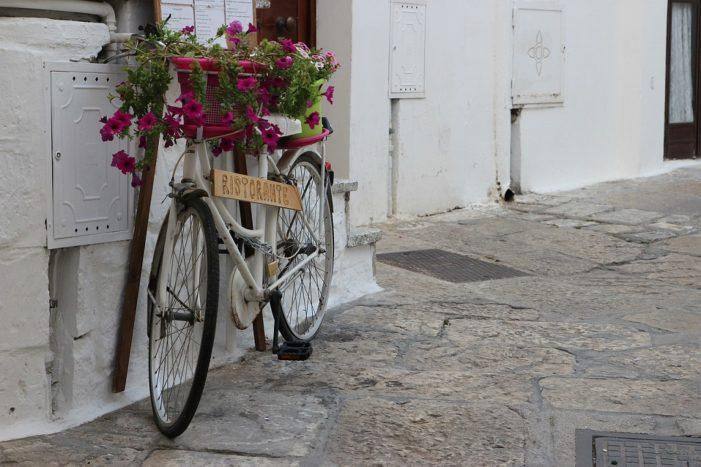 Salento: un'emozione vissuta in bicicletta