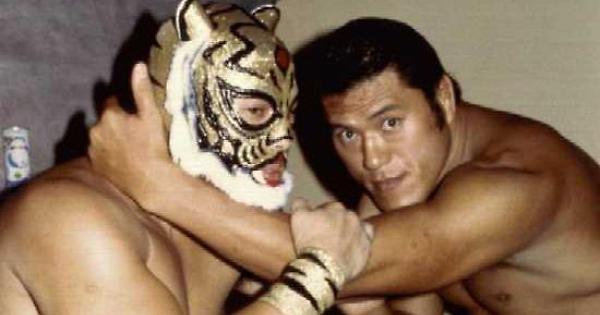 Tiger Mask e Antonio Inoki, due tra le stelle principali della NJPW negli anni '80