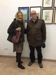 Fabiola Cinque con Riccardo Sanna 2